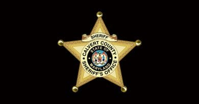 Calvert Sheriff's Incident Briefs for August 21, 2019