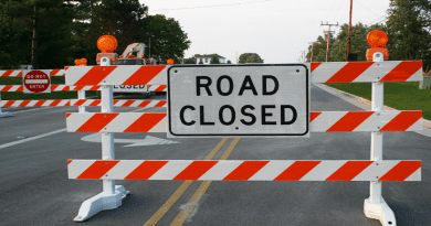 North Beach Road Closures for December 7, 2019