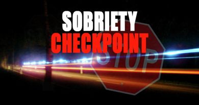 SMCSO, MSP & MDOT SHA to hold sobriety checkpoint Friday night