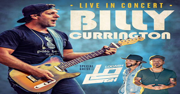 Billy Currington to play Bayside Toyota Pavilion in August