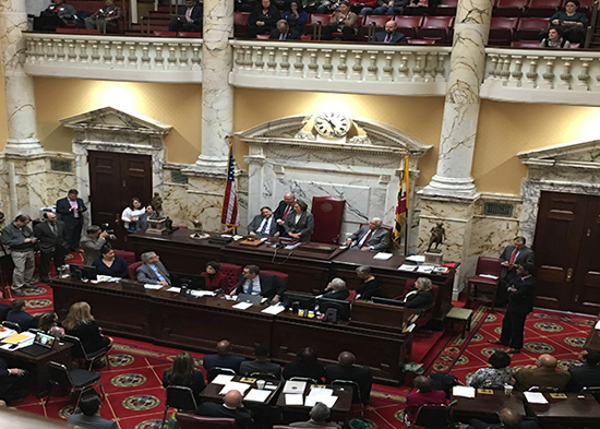 Chief Judge Mary Ellen Barbera honored by Maryland Senate as