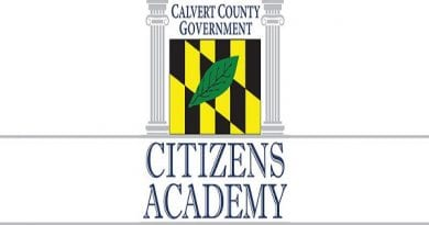 Calvert County accepting applications for Citizens Academy