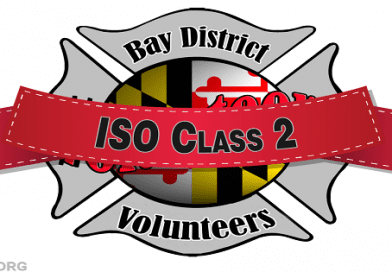 Bay District Volunteer Fire Department receives Class 2 ISO Rating