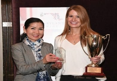 Port of Leonardtown Winery presented 2018 Maryland Wine Governor's Cup