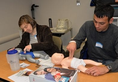 CalvertHealth Medical Center First in Maryland to Initiate Infant CPR Anytime® Training Program
