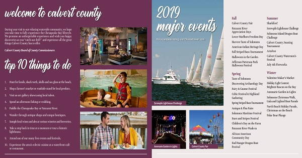 Calvert-County-2019-Catch-our-drift-visitors-guide