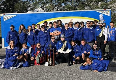 Calvert High Marching Band honored by Board of Education