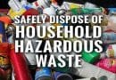 Household Hazardous Waste Events Offer Safe Disposal of Pool Chemicals
