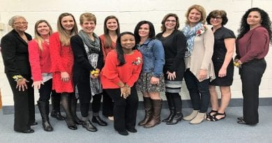 Calvert-county-board-of-education-employees-of-the-month-march-2019