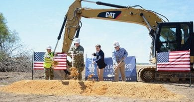 NAS Pax River breaks ground on MQ-25 Integrated Test Team Hangar