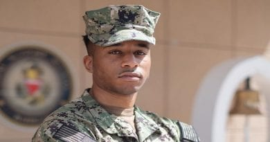 Fort Washington Native Protects U.S. Navy Forces in the Middle East