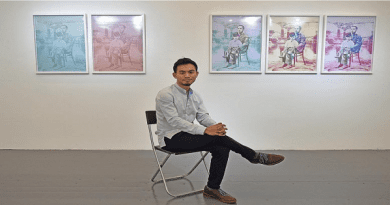 Asst. Prof. Cai Artist-in-Residence in Singapore