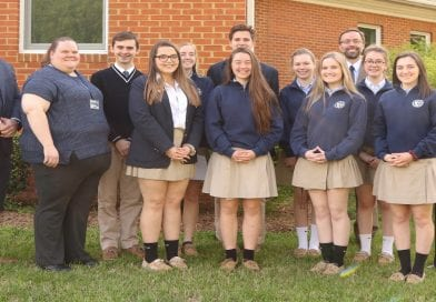 St. Mary's Ryken honors those inducted into Thespian, Tri-M and National Honor Society