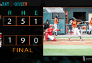 Valentin's Blast Leads Baysox over Erie