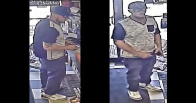 Police search for Callaway Credit Card theft suspect