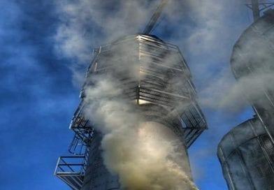 Grain Dryer fire under investigation