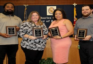 Board of Education honors outstanding support staff