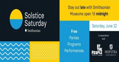 "Celebrate Summer With the Smithsonian's ""Solstice Saturday"""