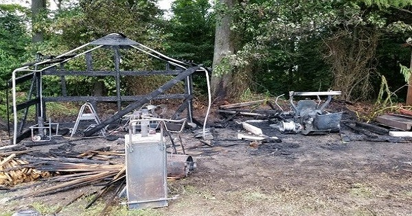 Lawnmower Blamed In Leonardtown Shed Fire The Southern