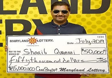 Charles County man strikes it rich on scratch-off bought in Lexington Park