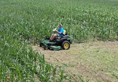 Bowles Farms begins preparation on Fall Maze