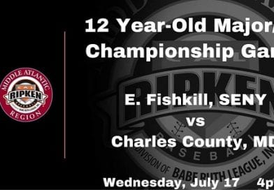 Charles County 12U All-Stars set to play Regional Championship tonight