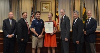 Calvert Commissioners honor students at July meeting