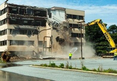 Demolition begins to make way for new Medstar Shah Medical Group building