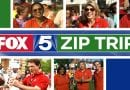 Fox5 Zip Trip filming in Leonardtown on Wednesday