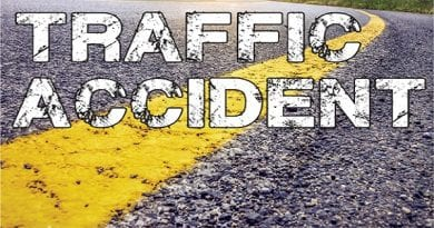 Route 235 partially closed in California due to crash