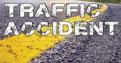 Crash closes portion of Indian Bridge Road
