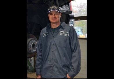 Meet Equipment Mechanic Kenny Napier, Department of Public Works, Fleet Maintenance Division.