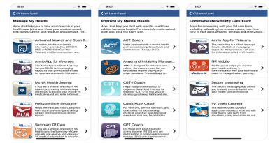 VA releases Launchpad app to streamline health care access for Veterans and caregivers