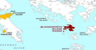 Controlled detonation to happen off SoMd coast at Bloodsworth Island