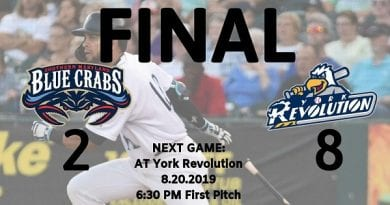 Fighting for playoff spot, Blue Crabs drop Game 1 to Revolution