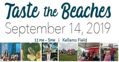 "Volunteers sought for 3rd Annual "" Taste the Beaches"""