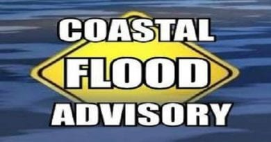 Charles, St. Mary's under Coastal Flood Advisory