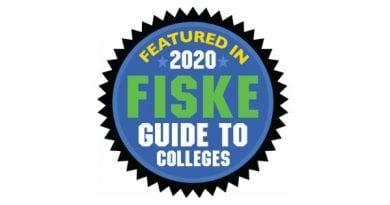 Fiske Guide to Colleges 2020 Recognizes St. Mary's College of Maryland