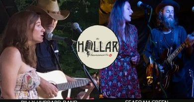 Wine tasting with The Billy Hubbard Band and Seafoam Green at Friday's Creek Vineyard