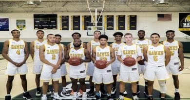 CSM Men's Basketball Splits Trip to Montgomery Classic
