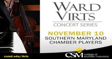 Southern Maryland Chamber Players Perform Free Concert at CSM's Prince Frederick Campus Nov. 10