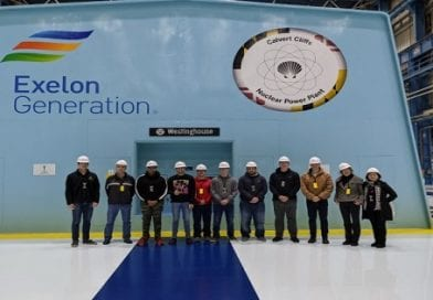 CSM Students Tour Calvert Cliffs Nuclear Power Plant; Explore Career Paths