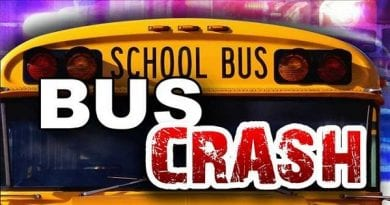 School bus crash reported in Golden Beach