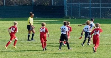 St. Mary's County Department of Recreation and Parks Seeking Youth and Adult Indoor Soccer Referees