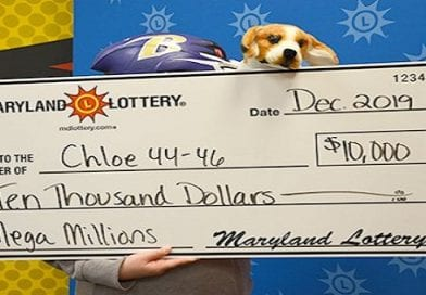 Waldorf couple's and their dog claim $10K Mega-Millions