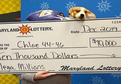 Waldorf couple's and their dog claim $10K Mega-Millions