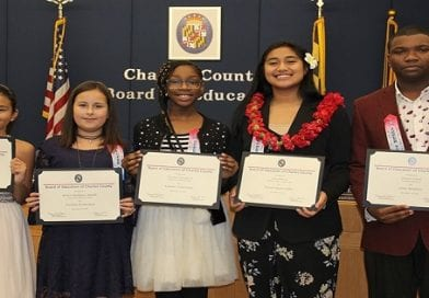 Charles Board of Ed honors exemplary students for accomplishments