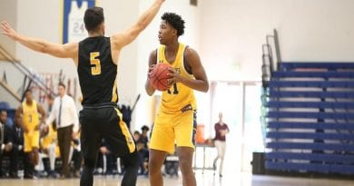 Men's Basketball Edged by Hampden-Sydney