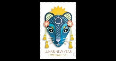 USPS to Issue Lunar New Year Forever Stamp Celebrating Year of the Rat