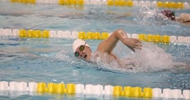 Men's Swimming Drops Saturday Meet at Catholic